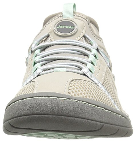 Jsport Da Jambu Womens Tahoe Encore Walking Shoe Light Grey / Light Aqua