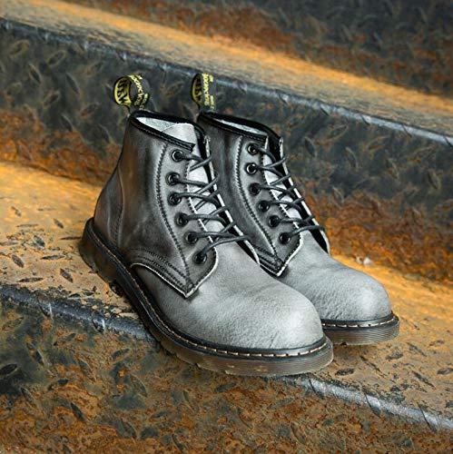 Style Stivali Nero Gray Plus EU 40 Nero Uomo Velvet Punk OSPxCqwP