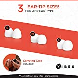 Vibes High Fidelity Earplugs - Invisible Ear Plugs