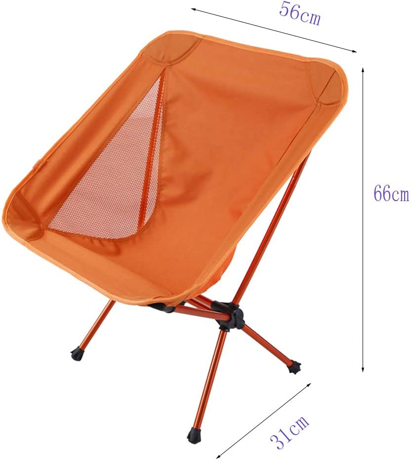 K-Y Silla Plegable Al Aire Libre Que Acampa Silla Portátil Que Pesca La Silla: Amazon.es: Hogar