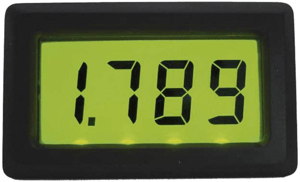 Afficheur LCD Beckmann /& Egle EX3068 0 /à 199,9 mV//DC Dimensions encastr/ées 46 x 26,5 mm