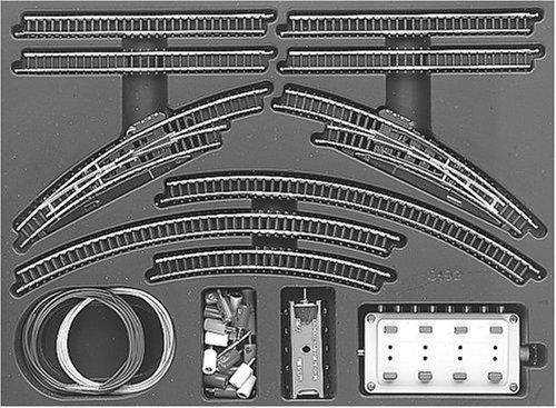 Marklin T1 Extension Set w/ Electric Turnouts (Marklin Electric Trains)
