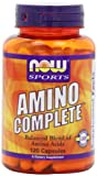 NOW Sports Amino Complete, 120 Capsules - Best Reviews Guide