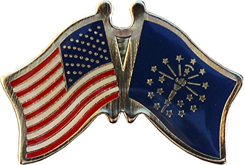 Indiana - State Friendship Lapel Pin