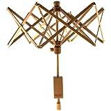 Stanwood Needlecraft YW-1 Wooden Umbrella Swift Yarn Winder, Medium