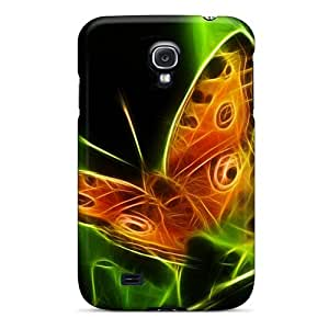 Scratch Protection Hard Cell-phone Cases For Samsung Galaxy S4 With Support Your Personal Customized Nice Butterfly Pattern SherriFakhry