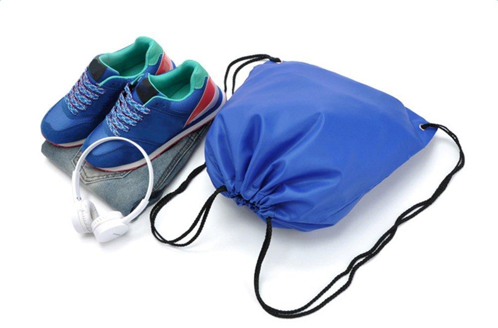 Yonger Drawstring Bag Pack Oxford cloth Folding Travel Sport Storage Drawstring Backpack Sack Bag Tote Bags by Yonger (Image #8)
