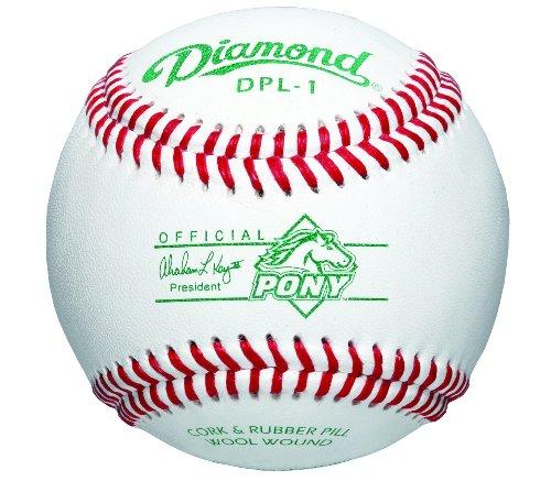 Diamond Pony League Competition Grade Baseball, Dozen DPL-1
