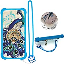 Case for Texet Tm-5075 Case Silicone border + PC hard backplane Stand Cover XKQ