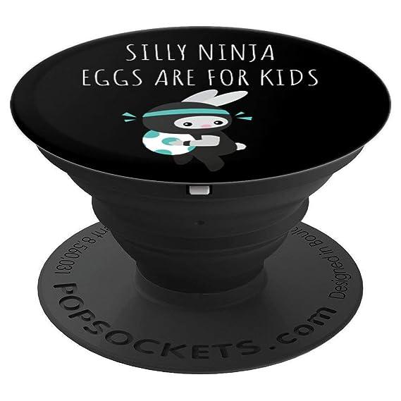 Amazon.com: Easter Funny Rabbit Ninja Thief - PopSockets ...