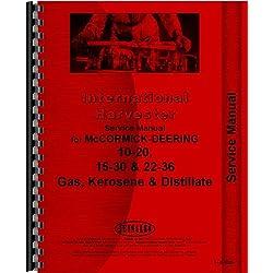 McCormick Deering 15-30 Tractor Service Manual