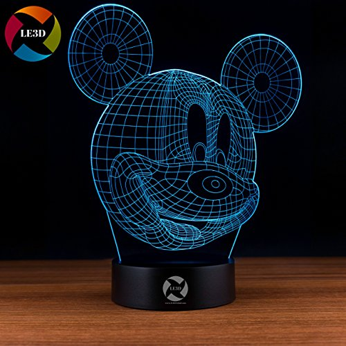 Mickey Mouse Led Night Light - 5