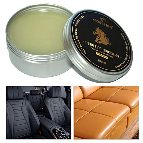 Car Seat Leather Care Cream, Renovating Repair Paste For Various Leather Renovations, Sofas, Car Seats - 100ML: