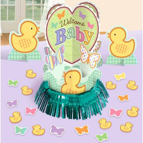 Baby Shower 'Tiny Bundle' Table Decorating Kit -