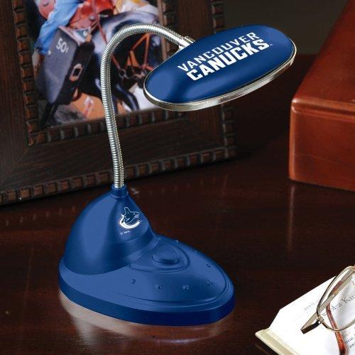 Memory Company NHL-VCA-509 Vancouver Canucks LED Desk Lamp, One Size, Multi Color