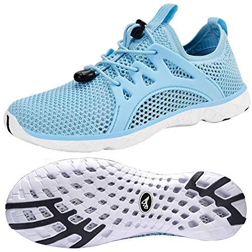 Feetmat Womens Water Shoes Quick Drying Aqua for Water Sports Slip on Walking Shoes