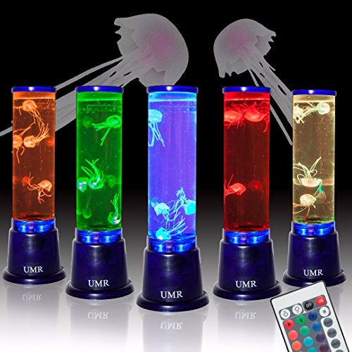 UMR Jellyfish Lamp Aquarium Mood Light w/ Large 14