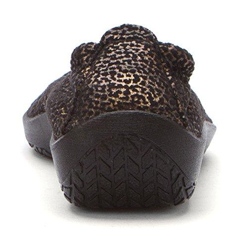 Arcopedico Womens L15d Slip Op Loafers Schoenen Zwart