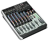 Behringer Q1204Usb Premium 12-Input 2/2-Bus Mixer with XENYX Mic Preamps & Compressors, Wireless Option and USB/Audio Interface