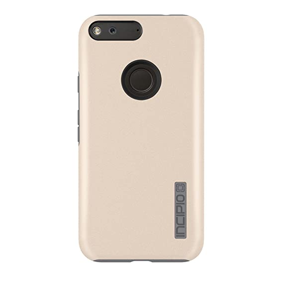 release date 07e5f e2407 Google Pixel Case, Incipio [Hard Shell] [Dual Layer] DualPro Case for  Google Pixel-Champagne/Gray