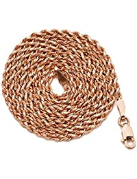 Amazoncom Gold Rose Gold Necklaces Jewelry Clothing