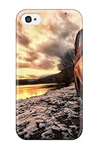 New Fashion Premium Tpu Case Cover For Iphone 4/4s - Truck