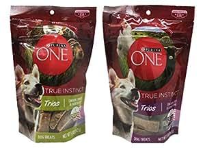 Amazon.com : Purina One True Instinct Trios Dog Treats