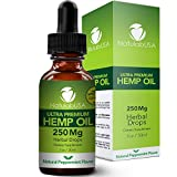 NatulabUSA - Hemp Oil - Fast Results - Relieve Chronic Pain - Ultra Premium Hemp Extract - Pure Hemp Seed Oil - Better Sleep - Healthier Skin - Smoother Hair - 250mg - 1oz- Natural Peppermint Flavor