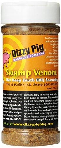 Dizzy Pig BBQ Swamp Venom Rub Spice - 7.4 Oz by Dizzy Pig Barbeque