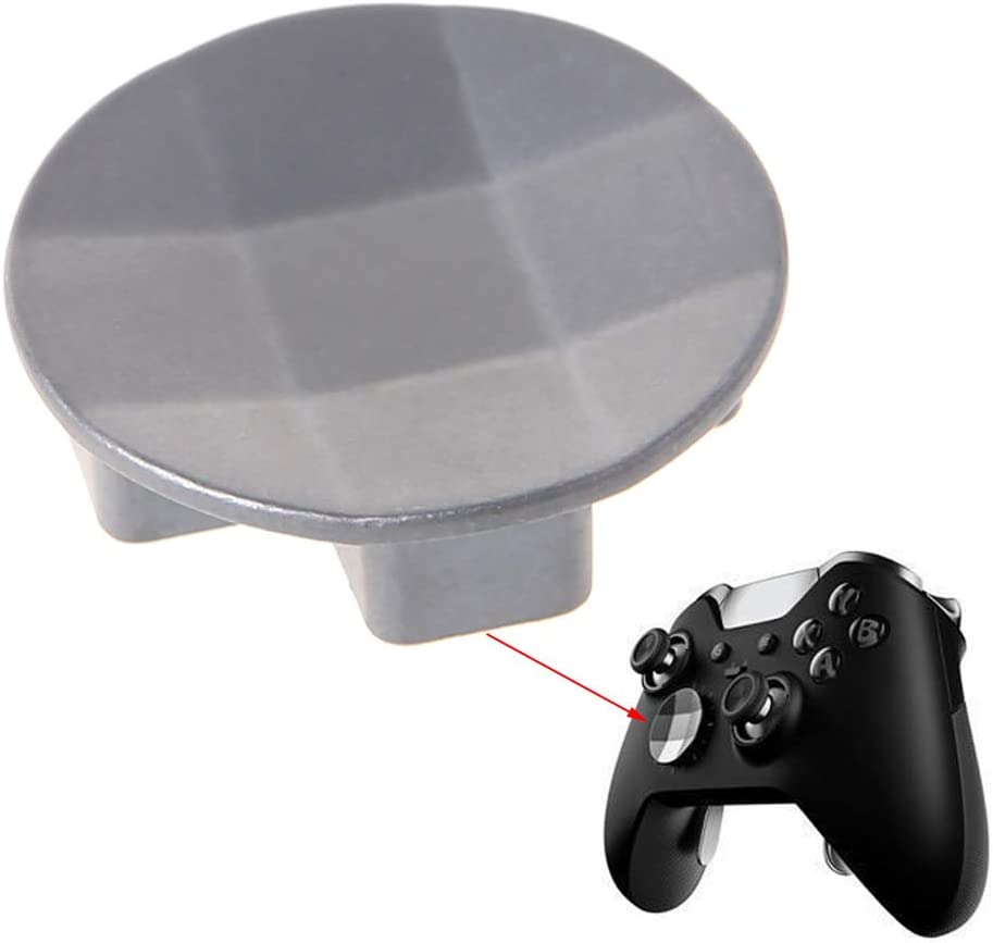 planuuik Round Magnetic Dpad Hot Gamepad Circle Replacement Parts Game Accessory for Wireless Controller