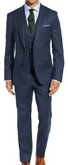 6e5ab31db STACY ADAMS Mens Big & Tall 64 66 68 70 72 3 Pc Dress Suit