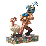 Enesco Disney Traditions by Jim Shore Gonzo with Chicken Figurine, 6-1/2-Inch