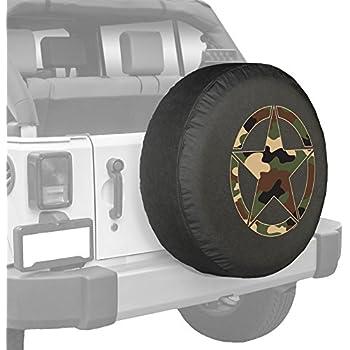 Amazon Com Jeep Wrangler Jk 32 Quot Distressed Star Spare