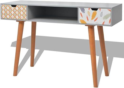 vidaXL - Mesa Auxiliar (120 x 40 x 78 cm, Tablero DM), diseño ...