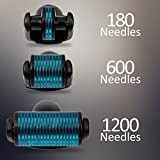 Blu-care 3 in 1 derma roller 0.25 mm microneedling microdermabrasion skin care kit