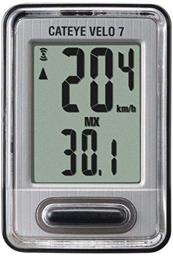 CatEye - Velo 7 Bike Computer with Odometer and Speedometer