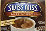swiss miss dark hot chocolate - Swiss Miss, Dark Chocolate Sensation, Hot Cocoa Mix, 8 Count, 10oz Box (Pack of 4)