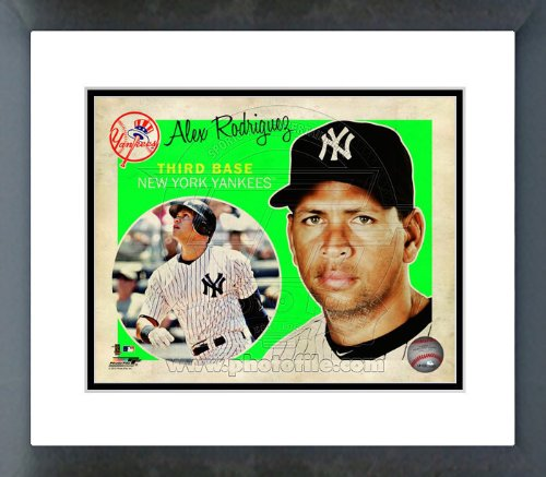 NY Yankees Alex Rodriguez 2012 Studio Plus Framed Picture 8x10 ()