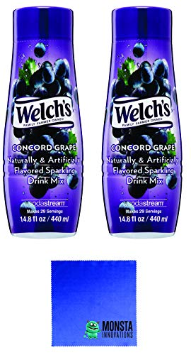 Sodastream Flavor Bundle, Welch's Concord Grape Flavor - Twin Pack