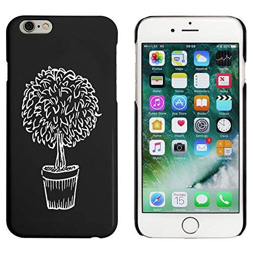 Noir 'Arbre Topiaire' étui / housse pour iPhone 6 & 6s (MC00019981)