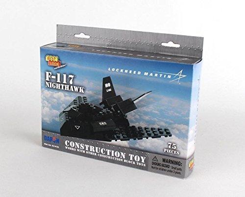 Daron F-117 Best Lock Construction Toy (75 Piece)