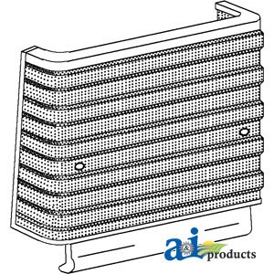 A&I Products Screen, Grille (1965-3/1968) Replacement for Ford - New Hollan... ()