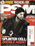 PSM MAGAZINE (February 2005 - Issue 107) Featuring: SPLINTER CELL: DOUBLE AGENT