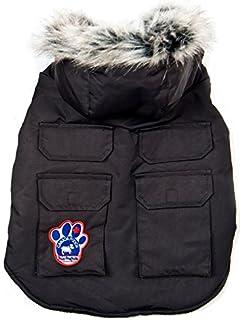 35ae5d6e85b5 Canada Pooch North Pole Parka Dog T20 - Black  Amazon.co.uk  Pet ...
