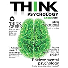 THINK Psychology, 1/e Audiobook by Abigail A. Baird Narrated by Mina Sands