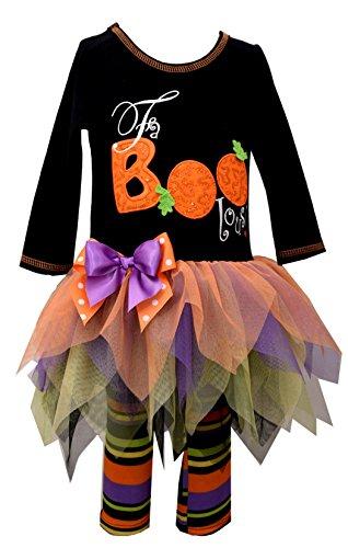Price comparison product image Bonnie Jean Toddler Girls' Appliqued Knit Tutu Playwear Set, Fabboolous, 3T
