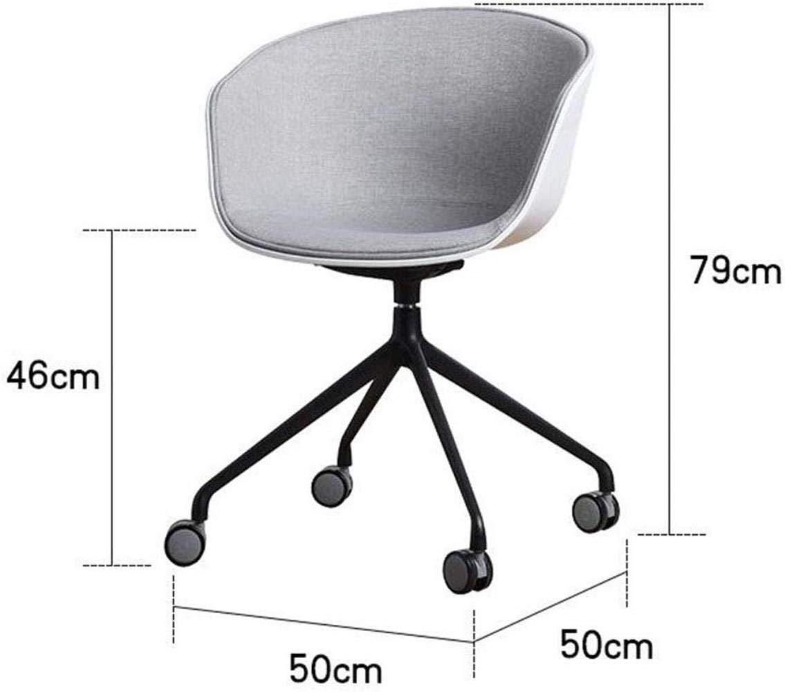 Barstolar THBEIBEI datorstol, kontorsstol svängbar stol spelstol uppgift skrivbordsstol ryggstöd 79 x 50 cm (färg: Blå) BLÅ