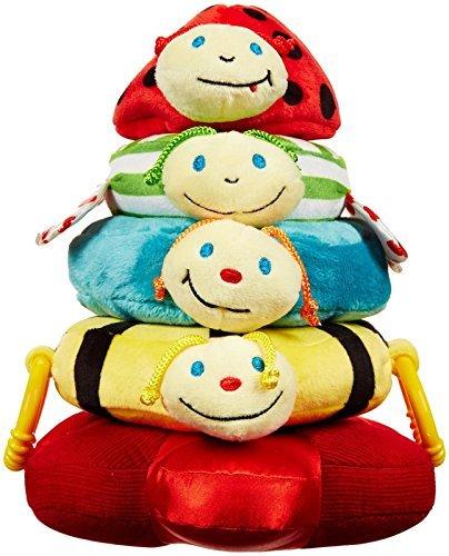 Happy Stacker Ring Toy (Edushape 925105 Happy Baby Stacker Baby Toy)