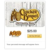 Cracker Barrel Gift Cards - E-mail Delivery