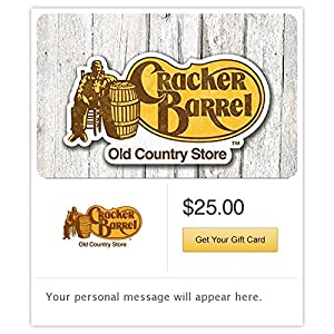 image regarding Cracker Barrel Coupons Printable called : Cracker Barrel Present Playing cards - E-deliver Shipping and delivery